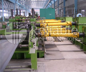 Carbon Steel Pipes Leveling