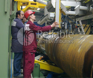 Carbon Steel Pipes Ultrasonic Inspection of Weld Seam