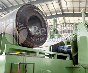 Carbon Steel Pipes Uncoiling