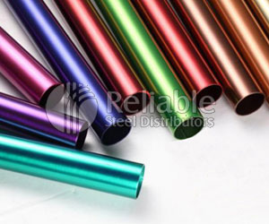 ASTM B677 TP904L Stainless Steel Colour Coated Tube Manufacturer in India