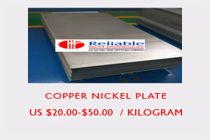 Copper Nickel sheet price