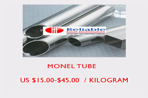 Monel tube price