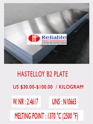 Hastelloy B2 sheet price