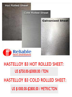 Hastelloy B3 plate supplier