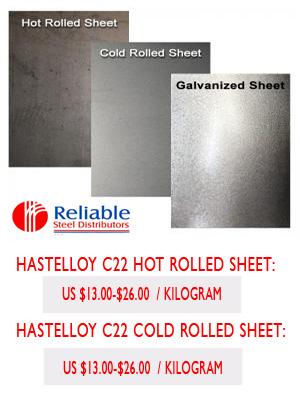 Hastelloy C22 Plate Supplier