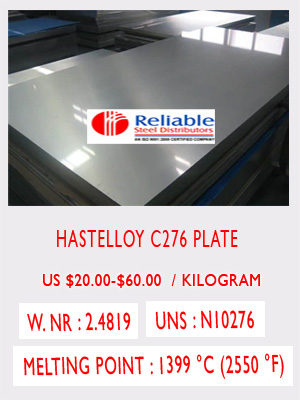 Hastelloy C276 sheet price