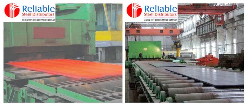 Nitronic plate manufacturing process