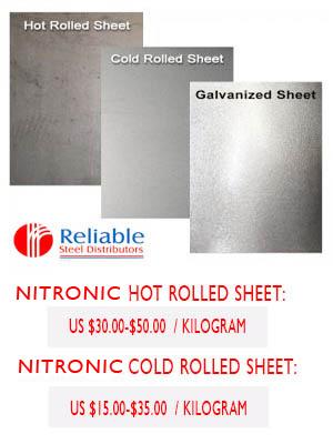 nitronic Plate supplier