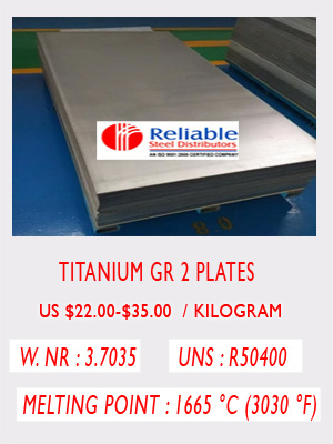 Titanium Grade 2 Sheet Suppliers, Titanium Gr 2 Plate |