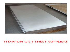 Titanium Gr 5 sheet price